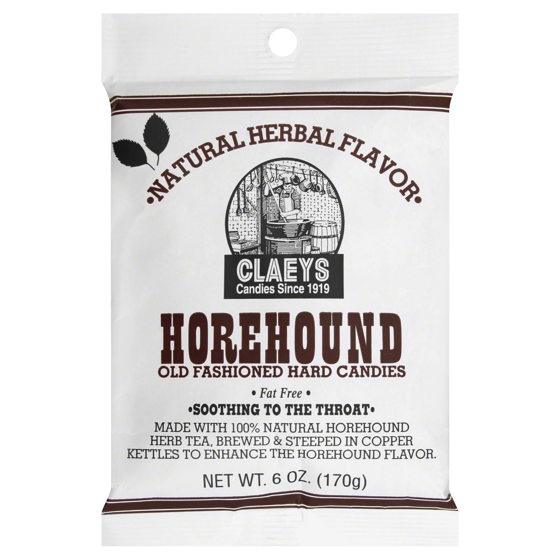 Claey's Horehound Hard Candies - 6oz