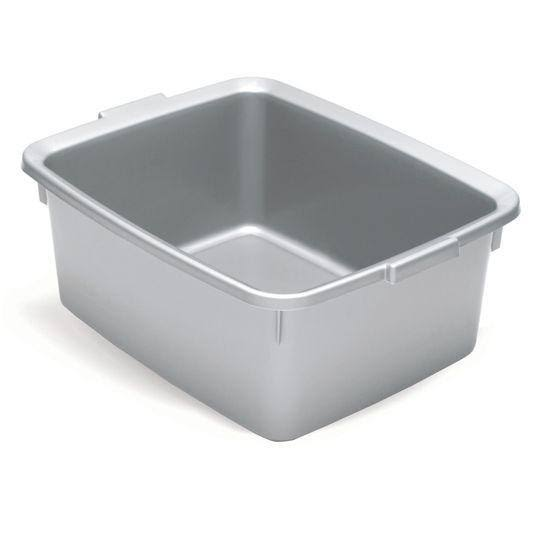 Addis 5 Star Rectangular Washing-Up Bowl - Silver Effect