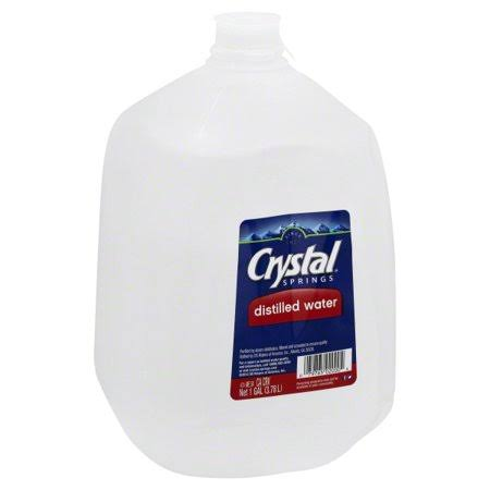 Crystal Springs Distilled Water