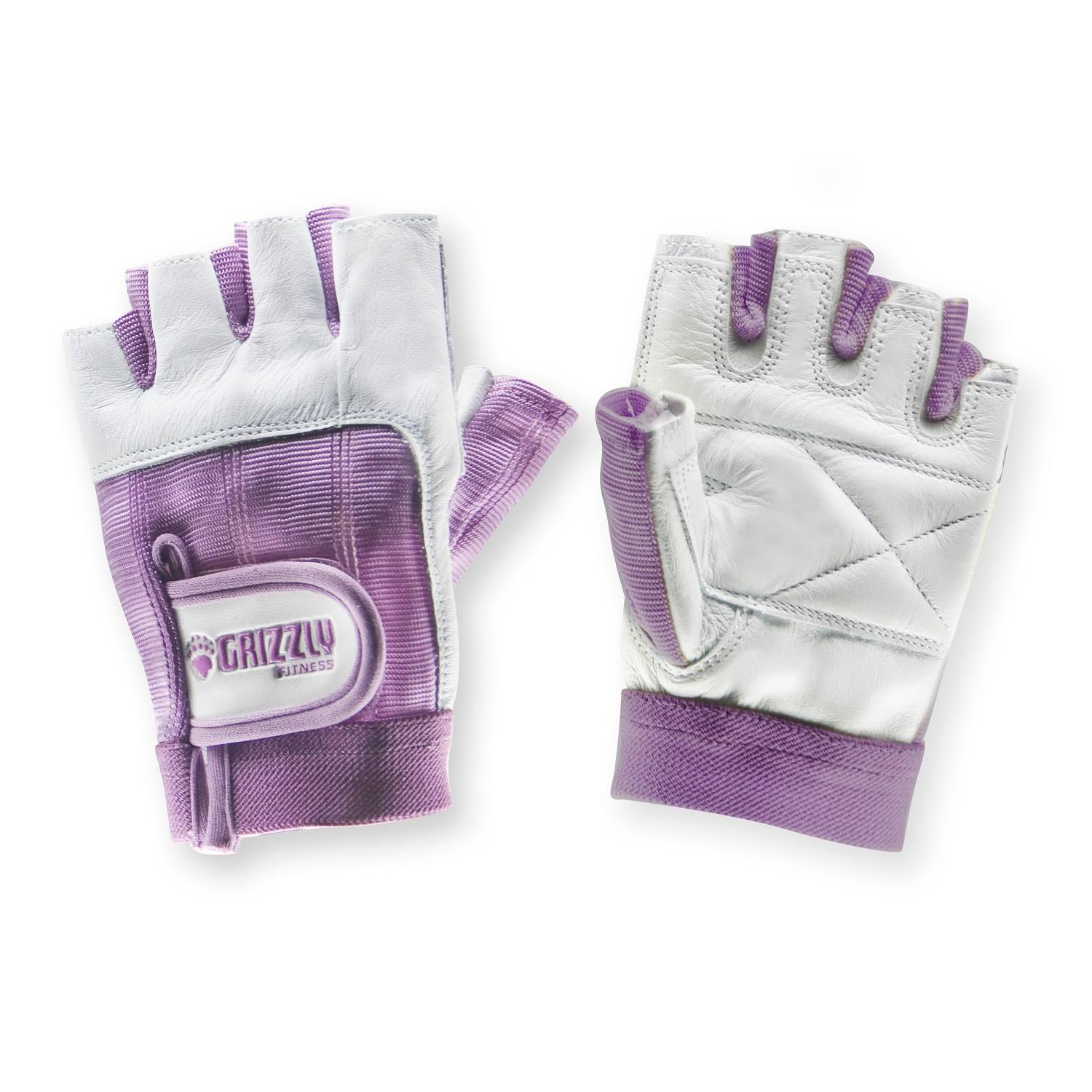 Grizzly Fitness Womens Paw Training Gloves Purple Small