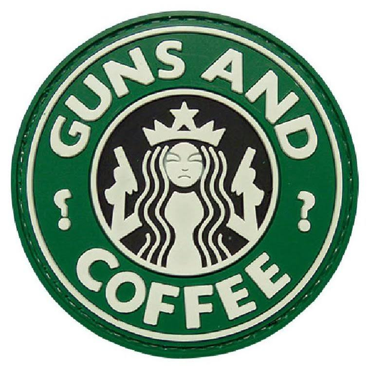 5ive Star Gear Guns & Coffee Velcro Morale Patch