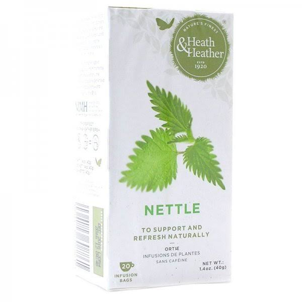 Heath and Heather Organic Nettle Tea - 20 Bags
