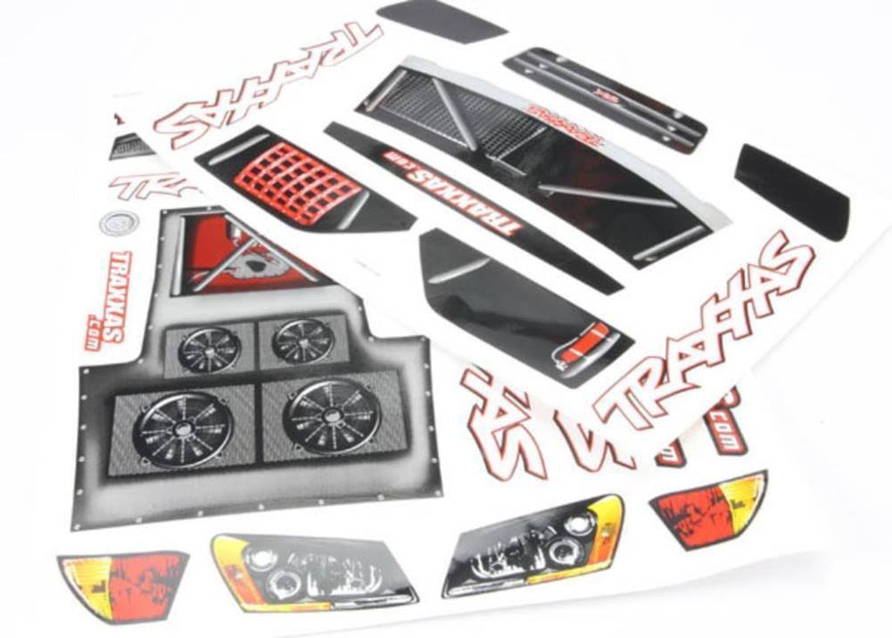 Traxxas 5813 Slash Decal Sheet