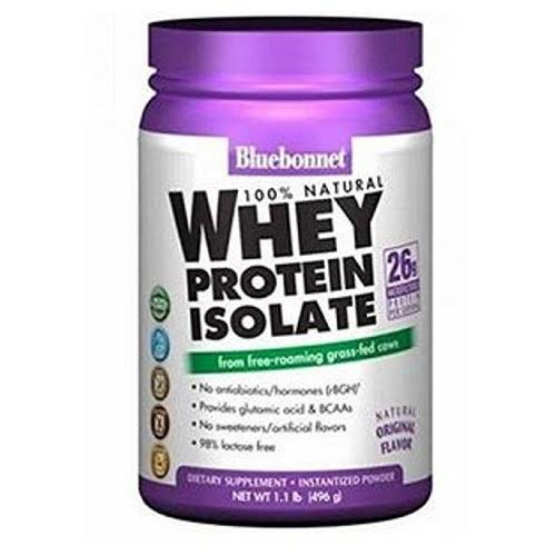 Natural Whey Protein Isolate Powder - 1.1 oz canister