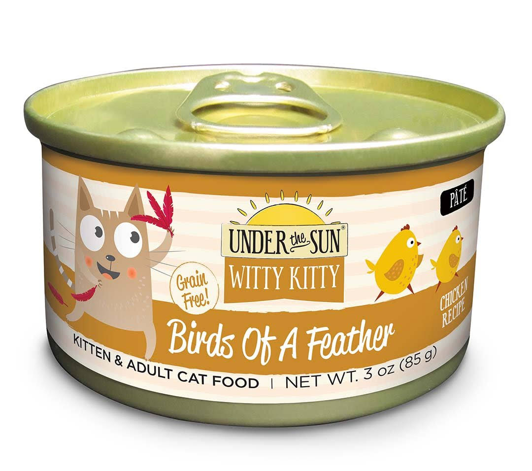 Canidae All LifeStages Under The Sun Witty Kitty Grain Free Birds of A Feather Chicken Recipe Wet Cat Food