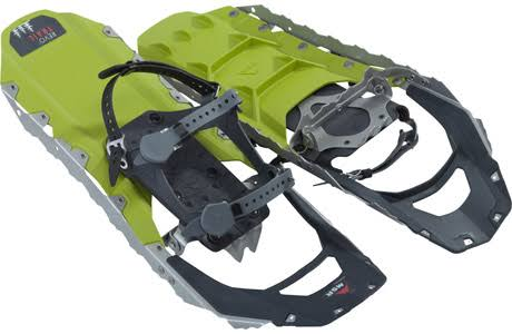 MSR Revo Trail Hiking Snowshoes - Rave Green, 22""