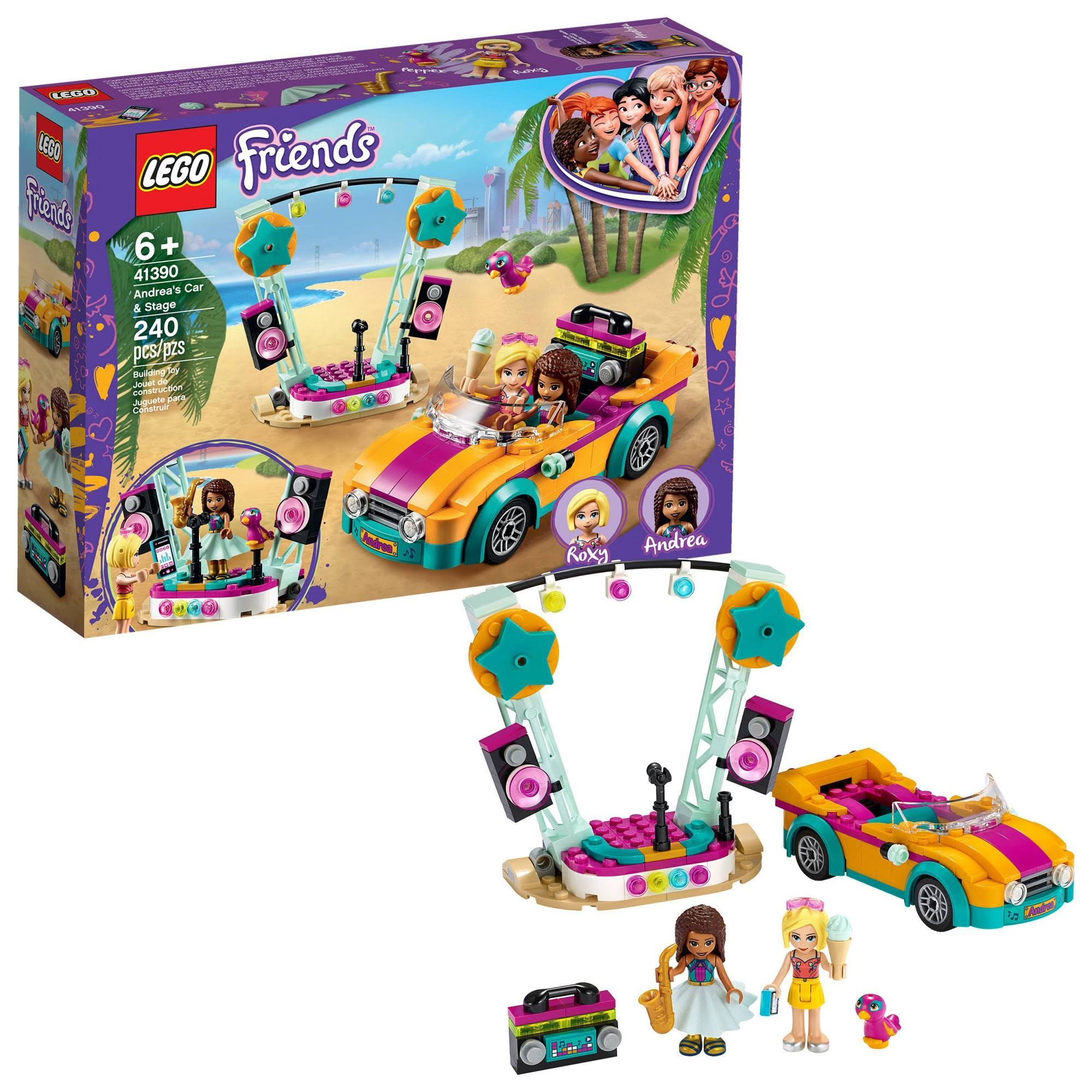 Lego Friends - Andrea's Car & Stage 41390
