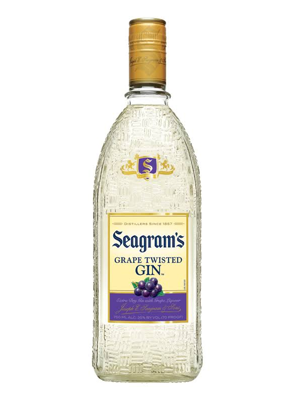 Seagrams Grape Twisted Gin 750ml