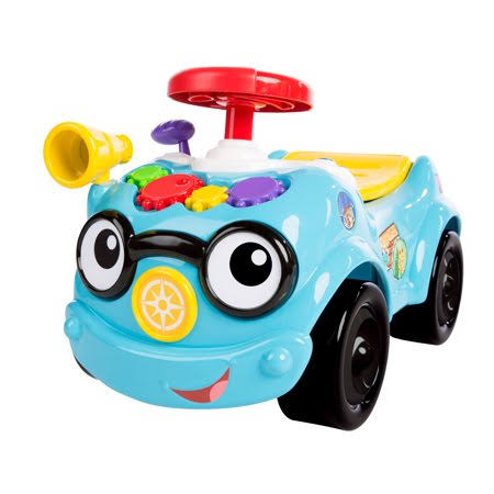 Baby Einstein Roadtripper Ride-On Car and Push Toddler Toy