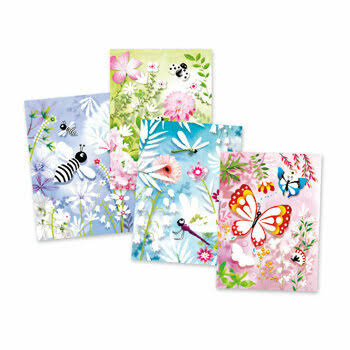 Djeco Glitter Boards Butterflies Craft Kit