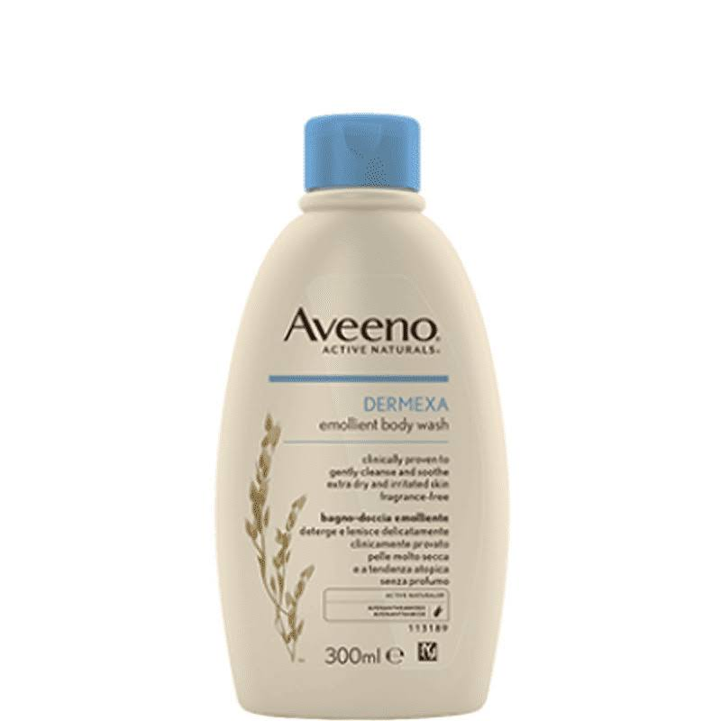 Aveeno Dermexa Emollient Body Wash - 300ml