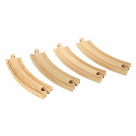 Brio Curved Tracks - Large, Wooden