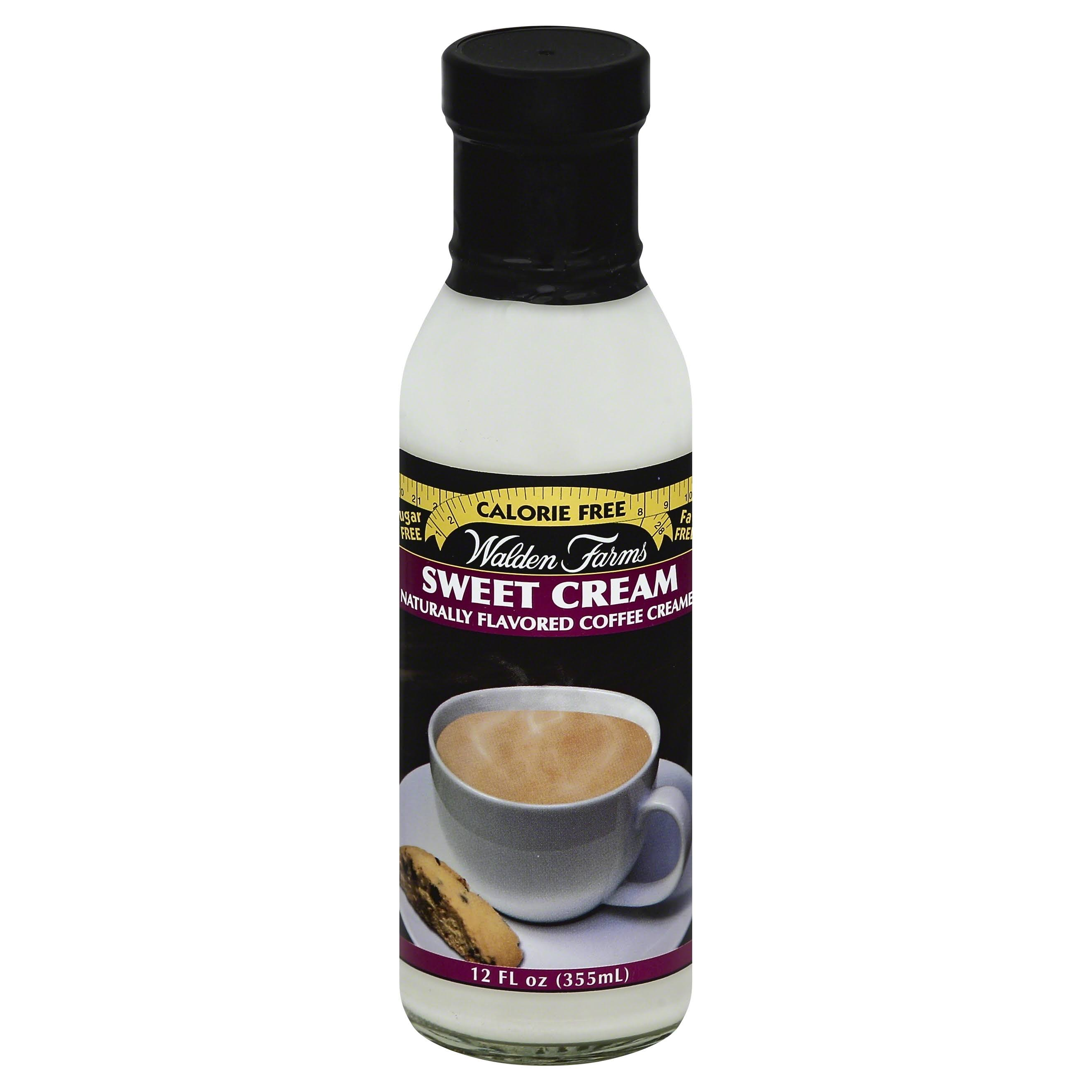 Walden Farms Coffee Creamer - Sweet Cream, 355ml
