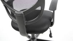 Lorell Executive High Back Chair Mesh Fabric by Essentials By Ofm Swivel Mesh Task Chair With Arms Ess 3001 Youtube