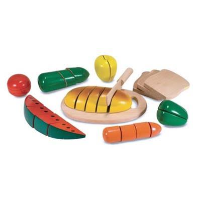 Melissa & Doug 487 Cutting Food Box Play Set