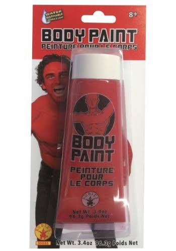 Rubie's Halloween Body Paint - Red, 3.4oz