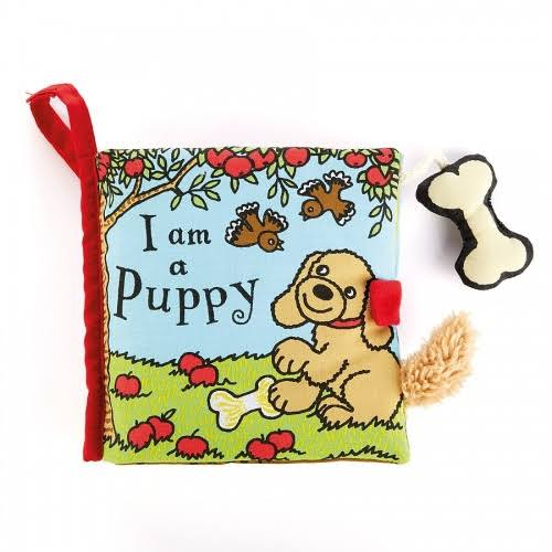 Jellycat Soft Cloth Books, I am a Puppy