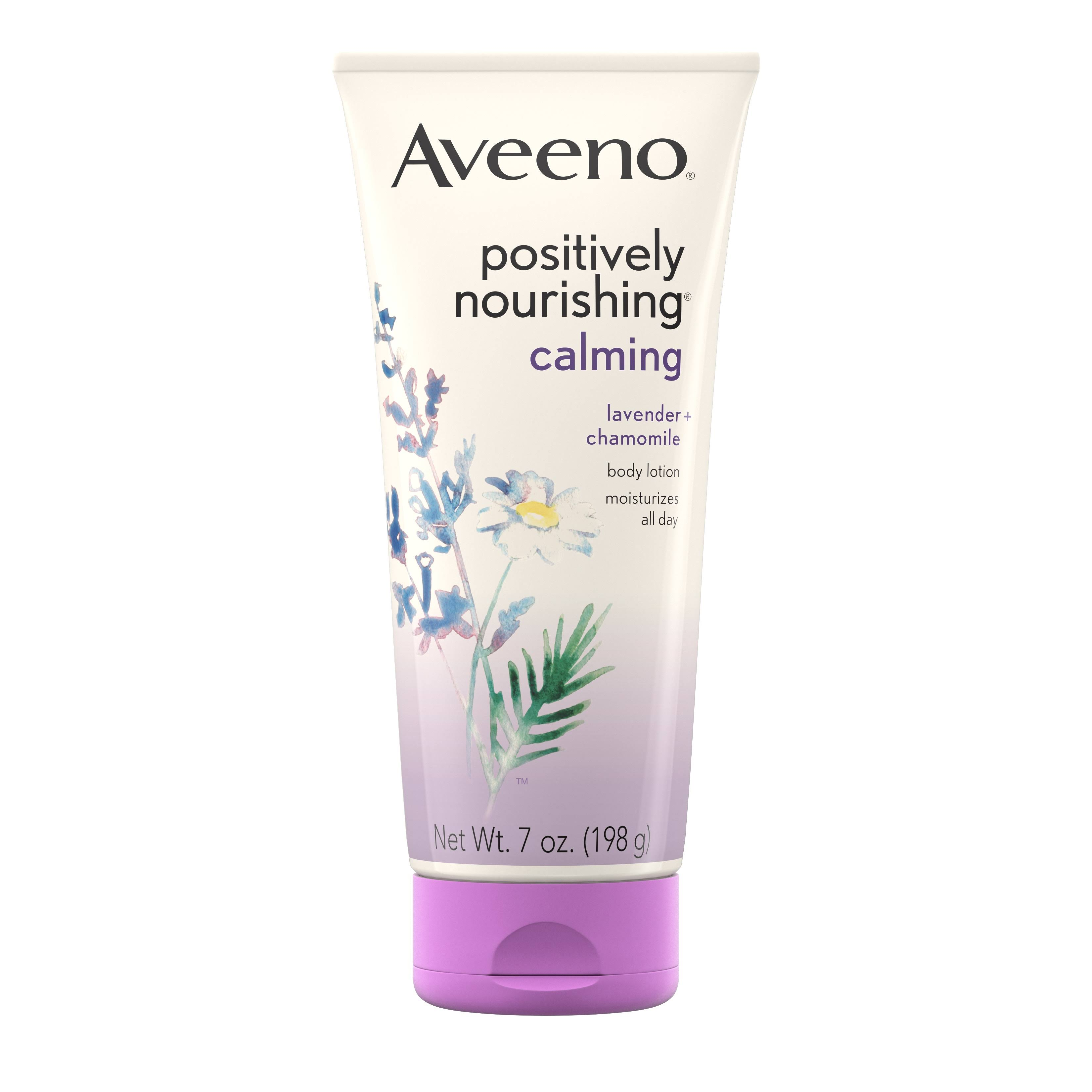Aveeno Active Naturals Positively Nourishing Calming Body Lotion - 7 oz