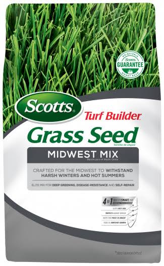 Scotts Turf Builder Grass Seed - Midwest Mix, 3lbs