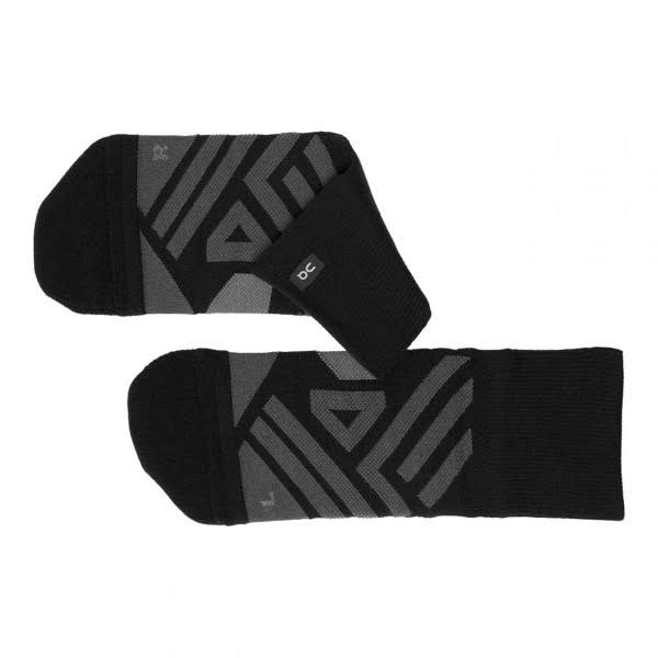 on Men's Mid Sock - Black - Shadow - Large