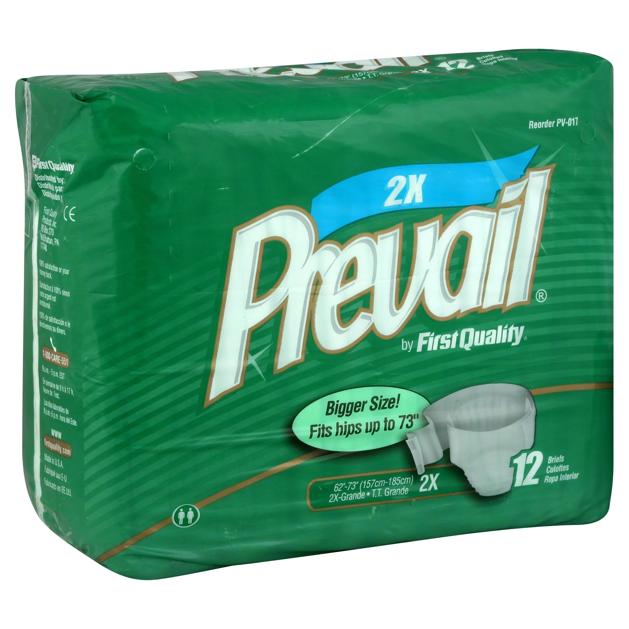Prevail Bariatric A Disposable Diaper