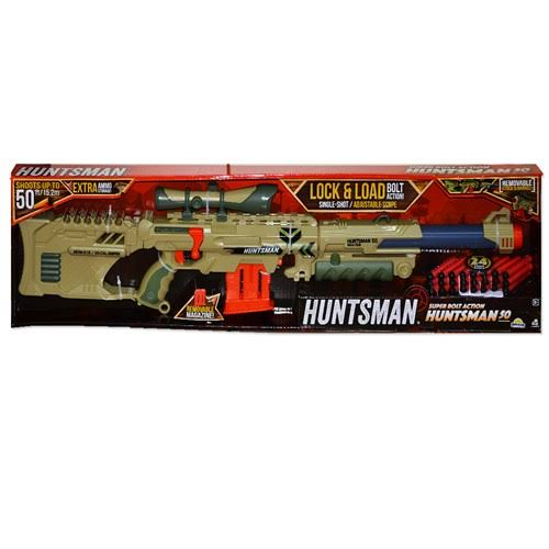 Lanard Toys Huntsman 50 Nerf Style 3-in-1 Customizable Gun Toy