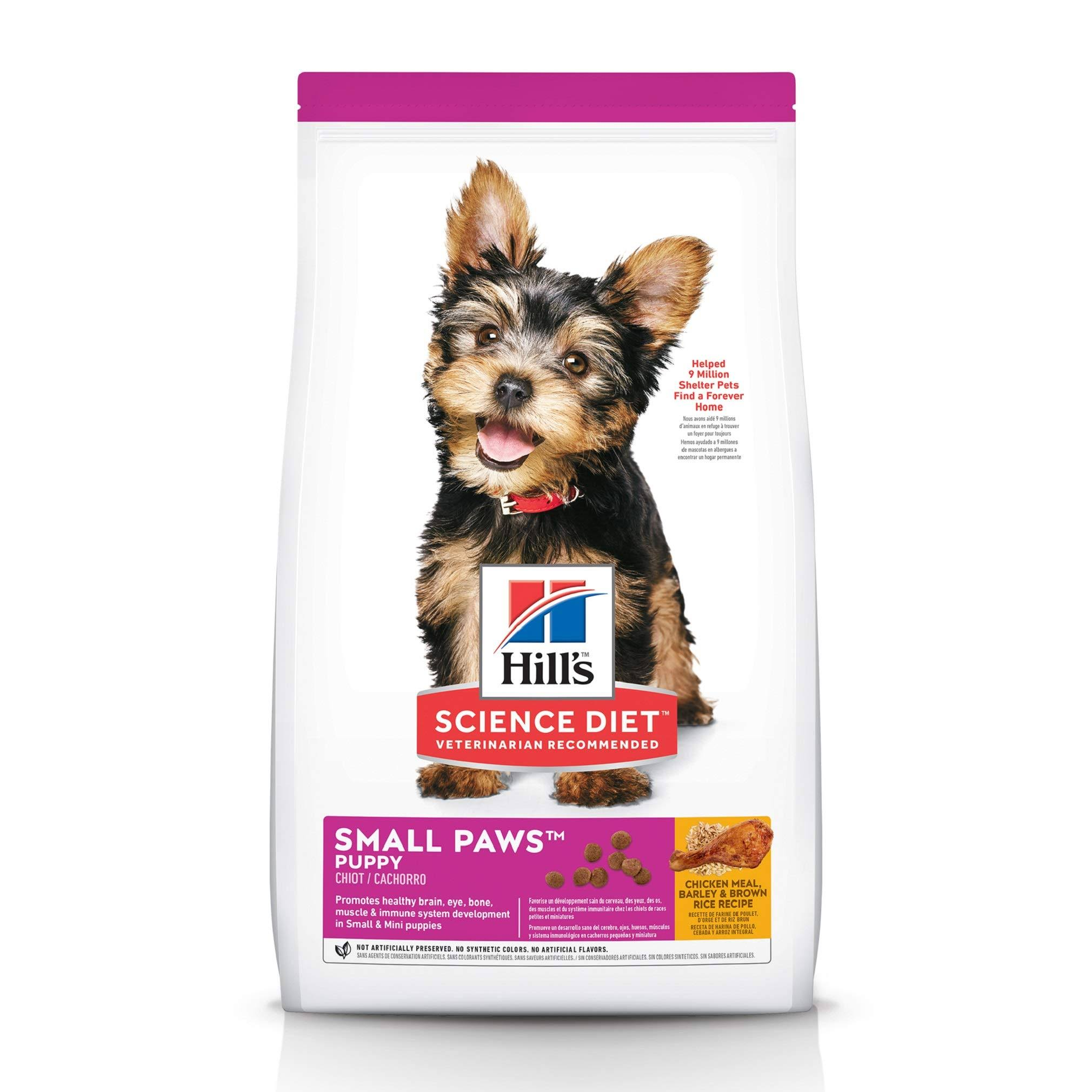 Hill's Science Diet Puppy Small & Toy Breed Premium Natural Dog Food