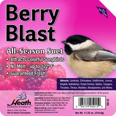 Heath Suet Cake - Berry Blast, 12 Count, 11.5oz