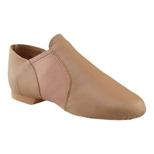 Capezio Women's EJ2 E-Series Jazz Slip-On Jazz Shoes - Caramel, US7.5