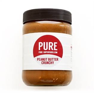 Pure Superfoods Peanut Butter Crunchy 500 grams
