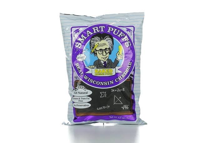 Smart Puffs Real Wisconsin Cheddar - 4.5oz