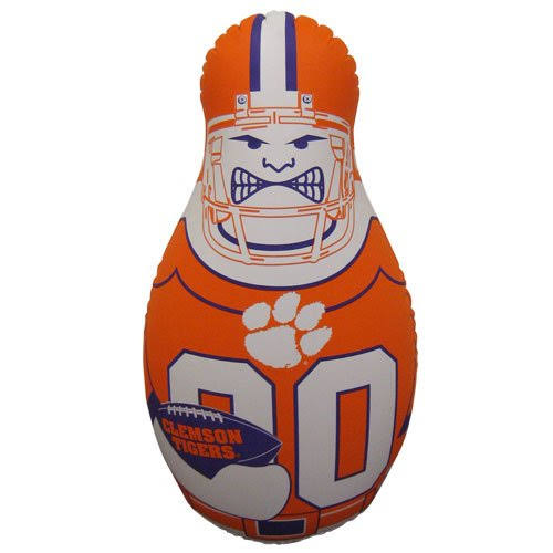 Fremont Die NCAA Clemson Tigers Tackle Buddy Bop Bag