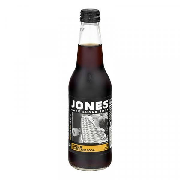 Jones Jones Soda Pre Cane Cola - 12oz