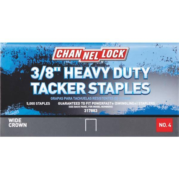 Channellock No. 4 Hammer Tacker Staples A11382