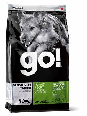 Go! Limited Ingredient Diet Sensitivity and Shine Turkey Recipe Dry Dog Food, 25 lb