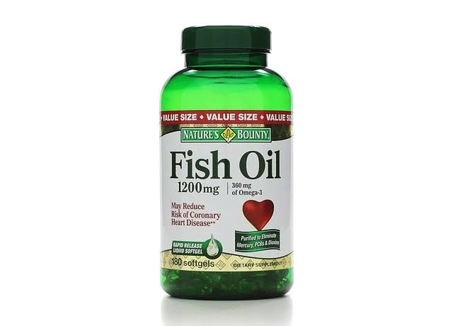 Nature's Bounty Fish Oil - 200ct