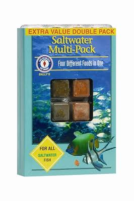 San Francisco Bay Brand Frozen Fish Food Saltwater Multi-Pack 7 oz