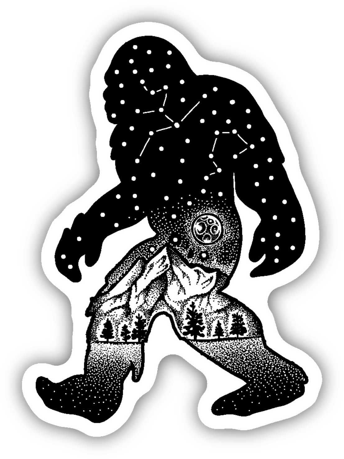 Stickers Northwest Sasquatch Sticker