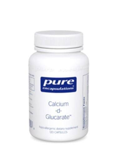 Pure Encapsulations Calcium D Glucarate Dietary Supplement - 120ct