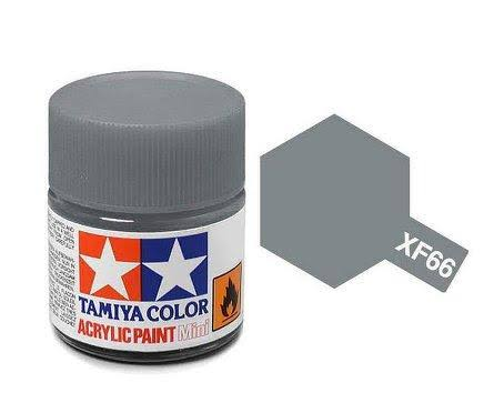 Tamiya Acrylic Xf66, Flat Light Grey