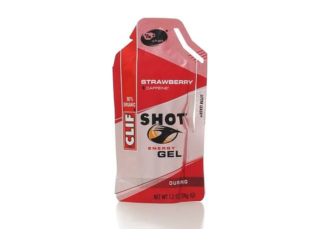 Clif Bar Organic Shot Energy Gels - Strawberry, 1.2oz