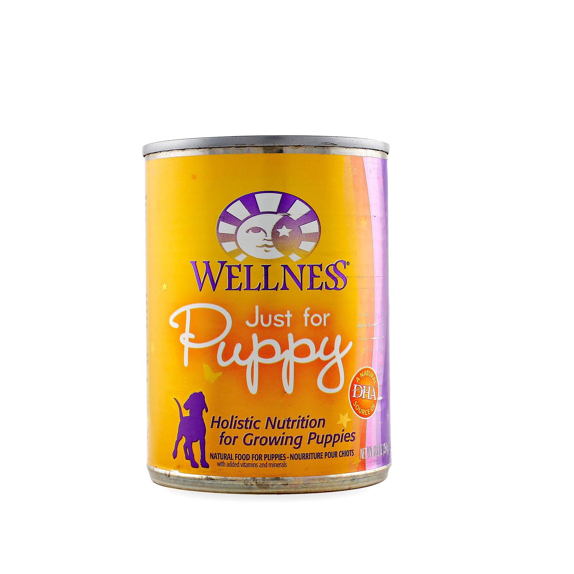 Wellness Complete Health Just For Puppy Wet Canned Dog Food - Chicken & Salmon