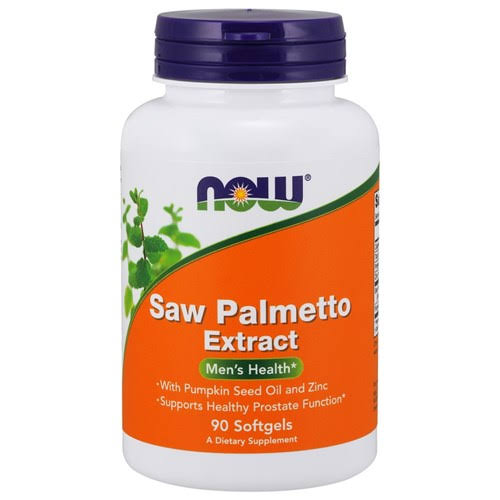 Now Foods Saw Palmetto Extract Supplement - 90 Softgels