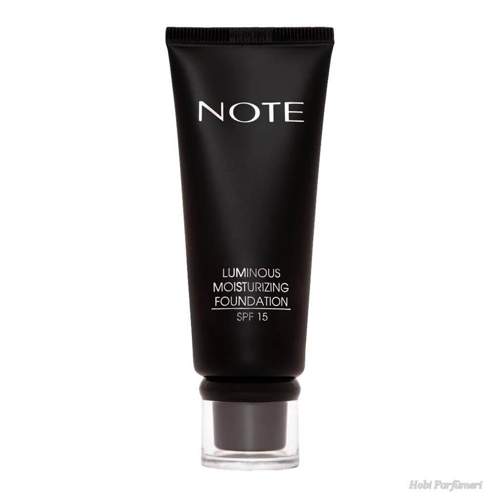Note Luminous Moisturizing Foundation - Brown 04