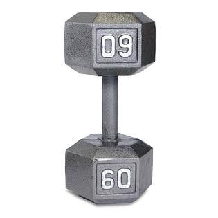 CAP Barbell Solid Hex Dumbbell - 60lbs
