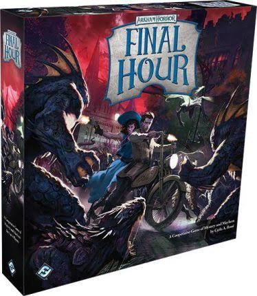 Fantasy Flight Games Arkham Horror Final Hour Board Game