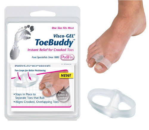 Visco Gel Toe Buddy - Instant Relief For Crooked Toes