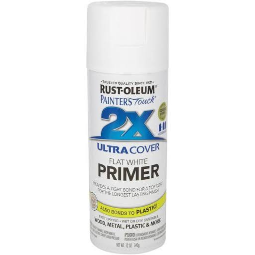 Rust-Oleum Painter's Touch Primer - White, 12oz