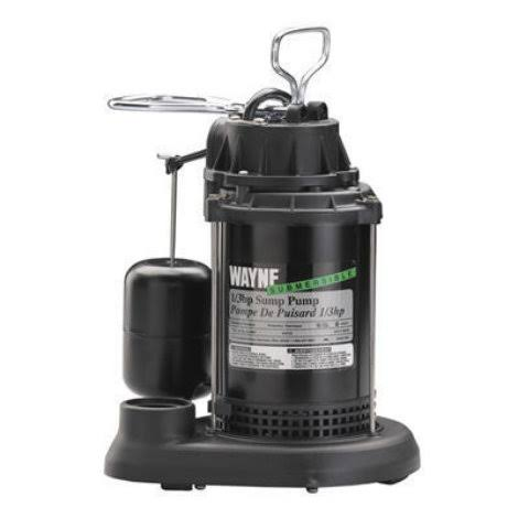 Wayne 1/3 HP Thermoplastic Sump Pump