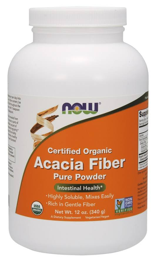 Now Foods - Organic Acacia Fiber Powder 12 oz